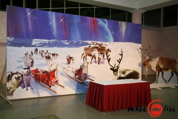 Аренда декораций для оформления Новогодних праздников